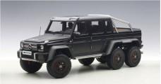Mercedes-Benz G63 Amg 6x6 2013 Matt Black Composite 1:18 AUTOart 76302