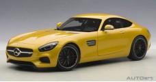 Mercedes-Benz AMG GTS 2015 Yellow 1:18 AUTOart 76314