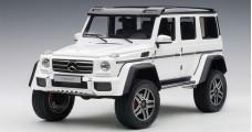 Mercedes Benz G500 4x4 2016 White Composite 1:18 AUTOart 76316