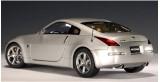 Nissan 350Z LH drive Silver 1:18 AUTOart 77311