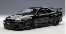 Nissan Nismo R34 GTR Black 1:18 AUTOart 77355