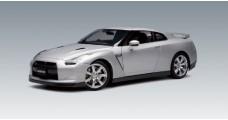 Nissan GT-R Silver 1:18 AUTOart 77386
