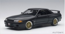 Nissan Skyline GT-R (R32) Tuned Version Frosted Black 1:18 AUTOart 77418