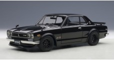 Nissan Skyline GT-R KPGC10 Tuned Version Black 1:18 AUTOart 77443