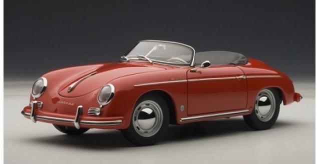 Autoart 77864 Porsche 356a Speedster Red 1 18