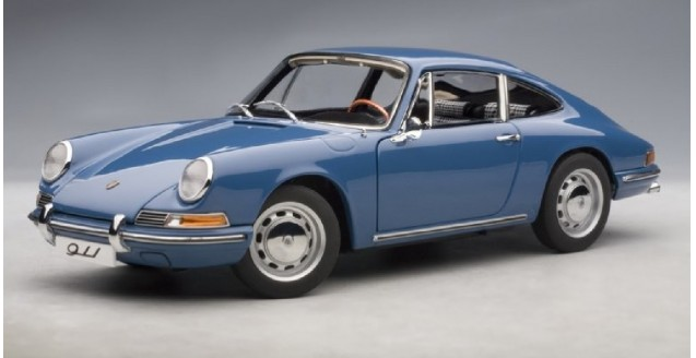 autoart 77913 porsche 911 1964 blue 1 18. Black Bedroom Furniture Sets. Home Design Ideas