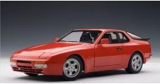 Porsche 944 Red 1:18 AUTOart 77957