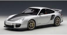 Porsche 911 (997) GT2 RS Silver 1:18 AUTOart 77961