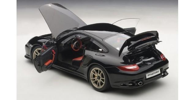 autoart 77962 porsche 911 997 gt2 rs black 1 18. Black Bedroom Furniture Sets. Home Design Ideas