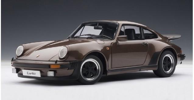 autoart 77973 porsche 911 turbo brown copper 1 18. Black Bedroom Furniture Sets. Home Design Ideas