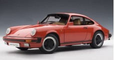 Porsche 911 Carrera 3.2 Coupe Red 1:18 AUTOart 78011