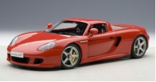 Porsche Carrera GT Red 1:18 AUTOart 78044