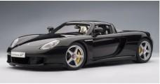 Porsche Carrera GT Black 1:18 AUTOart 78047