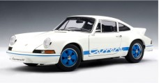 Porsche 911 Carrera RS 2.7 1973 White / Blue 1:18 AUTOart 78052