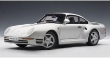 Porsche 959 Silver 1:18 AUTOart 78081