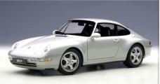 Porsche 911 (993) Carrera 1995 Silver 1:18 AUTOart 78131