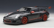Porsche 911 997 GT3 RS Black/Red 1:18 AUTOart 78141