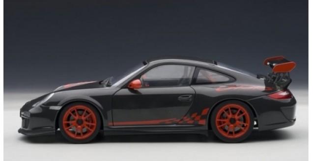 Porsche 911 997 GT3 RS Black/Red 118 AUTOart 78141