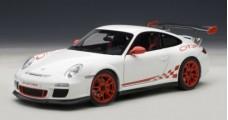 Porsche 911 997 GT3 RS White 1:18 AUTOart 78143