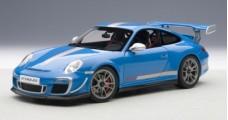 Porsche 911 997 GT3 RS Blue 1:18  AUTOart 78145