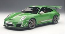 Porsche 911 997 GT3 RS Green 1:18 AUTOart 78149