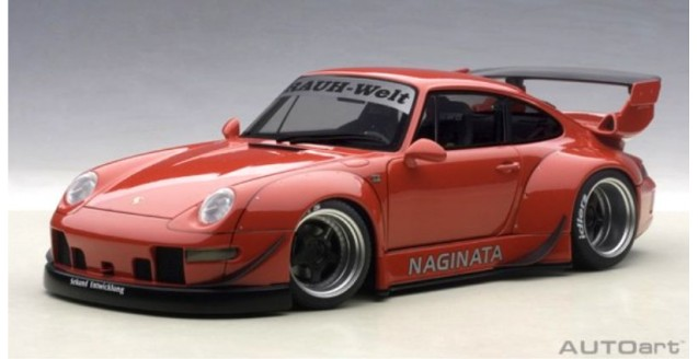 Porsche 911 (993) RWB Red 1:18 AUTOart 78153