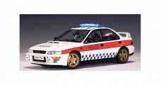 Subaru Impreza Police Car Great Britain 1:18 AUTOart 78651