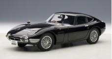 Toyota 2000 GT Coupe Black 1965 1:18 AUTOart 78750