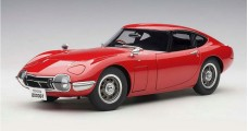 Toyota 2000 GT Coupe 1965 Composite Red 1:18 AUTOart 78751