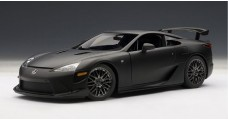 Lexus LFA Nurburgring Package Matt Black 1:18 AUTOart 78839