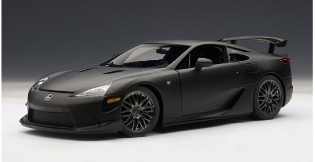 Mercedes Benz Models >> AUTOart 78839 Lexus Lfa Nurburgring Package Matt Black 1:18