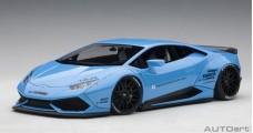 Lamborghini Huracan Liberty Walk Edition Sky Blue 1:18 AUTOart 79122