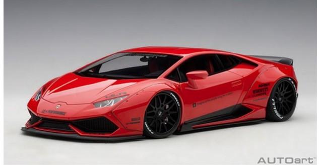 Autoart 79123 Lamborghini Huracan Liberty Walk Edition Red 1 18
