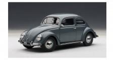 Volkswagen Beetle Kaefer Silver Grey 1:18 AUTOart 79774