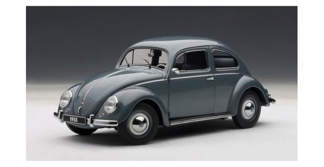 Autoart 79774 Volkswagen Beetle Kaefer Stratos Silver Grey