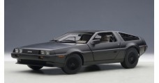 De Lorean DMC 12 1981 Matt Black 1:18  AUTOart 79912