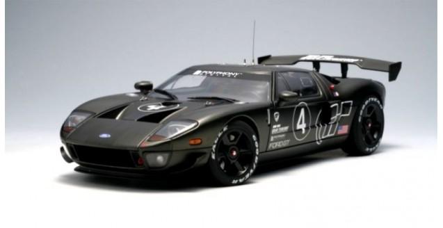 Ford GT L.M. Spec II Test Car 2005 Carbon Fiber Livery 1:18 AUTOart 80514