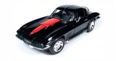 Chevy Corvette 427 1967 Black 1:18 American Muscle AMM1004