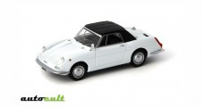 Autobianchi Stellina Cabriolet Soft Top 1964 white 1:43 AutoCult 02002