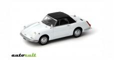Autobianchi Stellina Cabriolet Soft Top 1964 white 1:43 AutoCult 02002