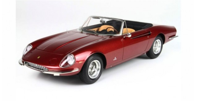 Ferrari 365 California Ruby Red Metalic 1:18 BBR CARS1809