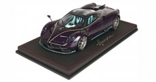 Pagani Huayra Dinastia Special China Version Purple with Case 1:18 BBR Models BBR P18126D