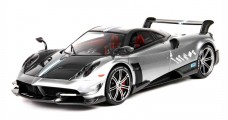 Pagani Huayra BC Press Version Silver 1:18 BBR Models P18128