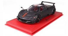 Pagani Huayra BC Matt Black with Case 1:18 BBR Models BBR P18128MB1