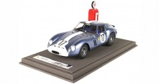 Ferrari 250 GTO 24H Le Mans 1962 Special Edition Blue with Case 1:18  BBR Models BBR1808TEX