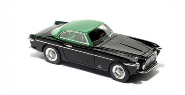 Ferrari 212 Inter Vignale 1953 Black Green 1:43 BBR Models BBR88A