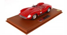 Ferrari 315 S 1957 Street Version Red With Case 1:18  BBR Models BBRC1807ST