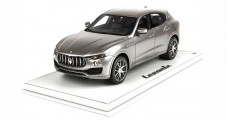 Maserati Levante 2016 Grey With Display  1:18  BBR Models BBRC1809IV