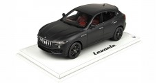 Maserati Levante 2016 Matt black with display case 1:18  BBR Models BBRC1809MB