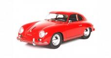 Porsche 356A 1955 Signal Red 1:18 wtih Case BBR Models BBRC1820FV